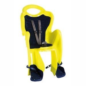 Barnestol til bagagebærer (gul)