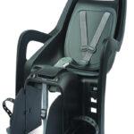 Barnestol til bagagebærer (grå)