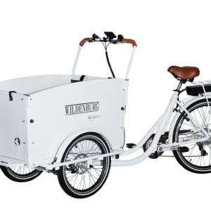El-ladcykel Classic – Hvid, Hydrauliske skivebremser