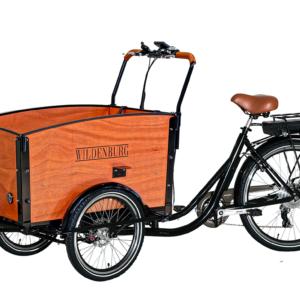 El-ladcykel Classic – Naturfarve, Hydrauliske skivebremser