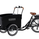 El-ladcykel Classic – Sort, Hydrauliske skivebremser